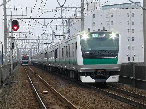 りんかい線 各駅停車 大崎行き4 E233系