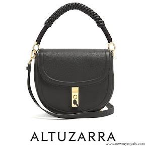 Meghan Markle carried Altuzarra Ghianda leather shoulder bag