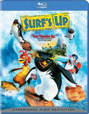 Poster Of Surf's Up 2007 Dual Audio 720p BRRip [Hindi - English] - UNCUT Free Download Watch Online Worldfree4u
