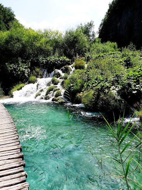 Trasa zwiedzania Jeziora Plitvickie