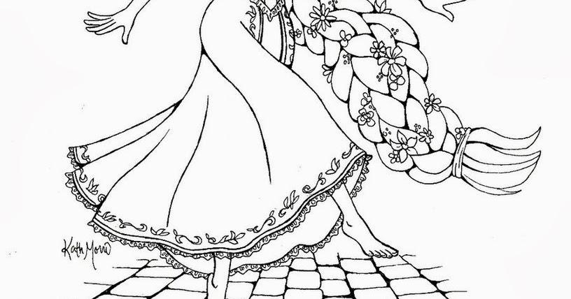 Rapunzel Disegni Da Colorare Online Migliori Pagine Da Colorare