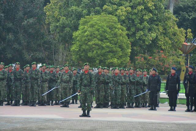 Upacara HKN Tingkatkan Kesadaran Prajurit TNI Polri dan PNS Pemda Bone