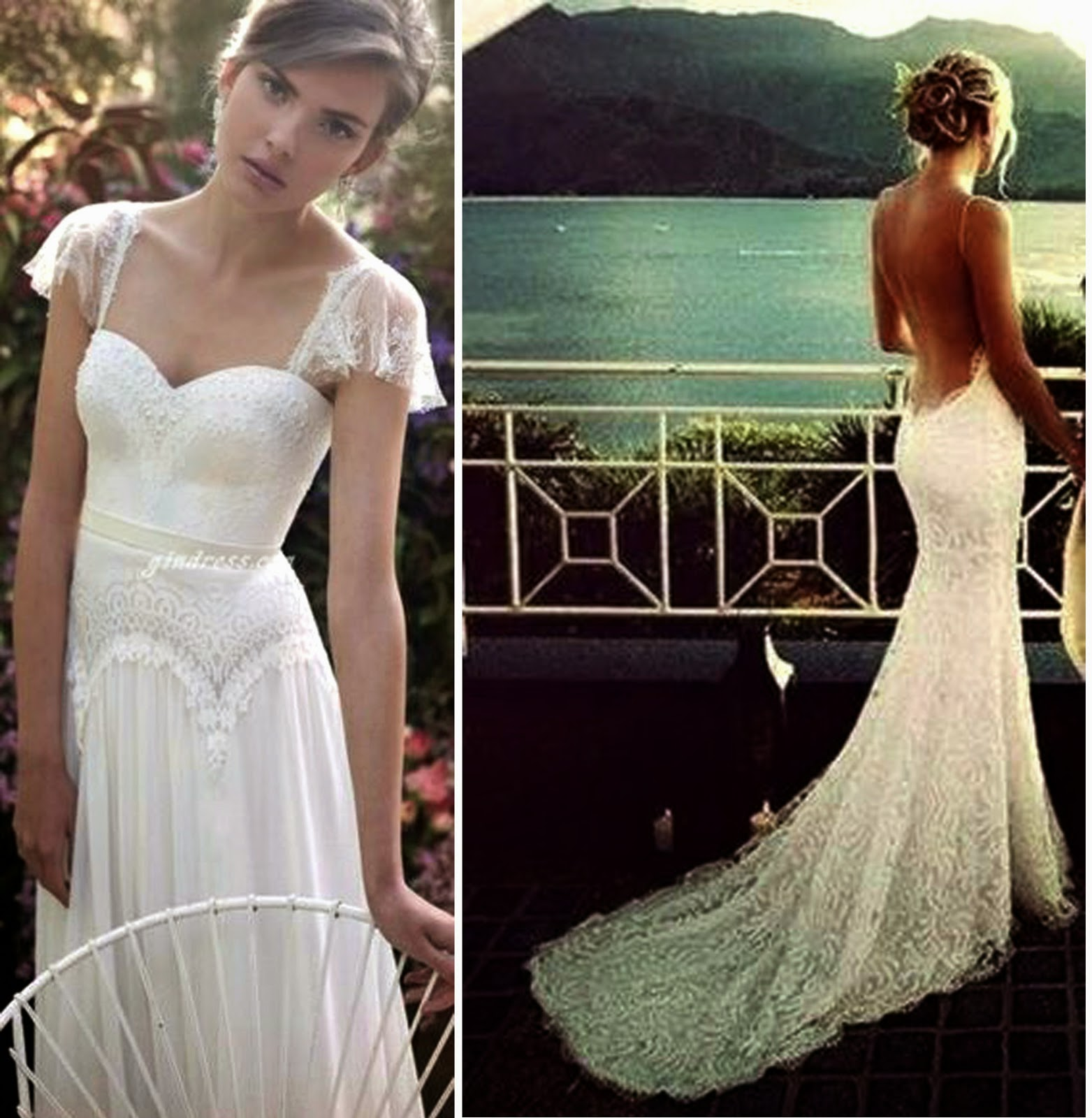 Ideas For Beach Wedding Dresses