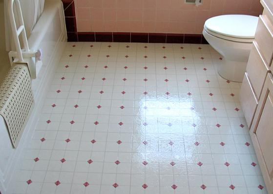 Vinyl or Linoleum Flooring for Bathrooms