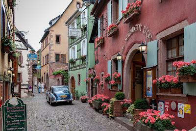 Kota Kecil Riquewihr