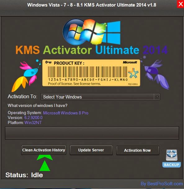 New Windows Loader/Activator For Vista ,Windows 7,Windows 8 and Windows 8.1