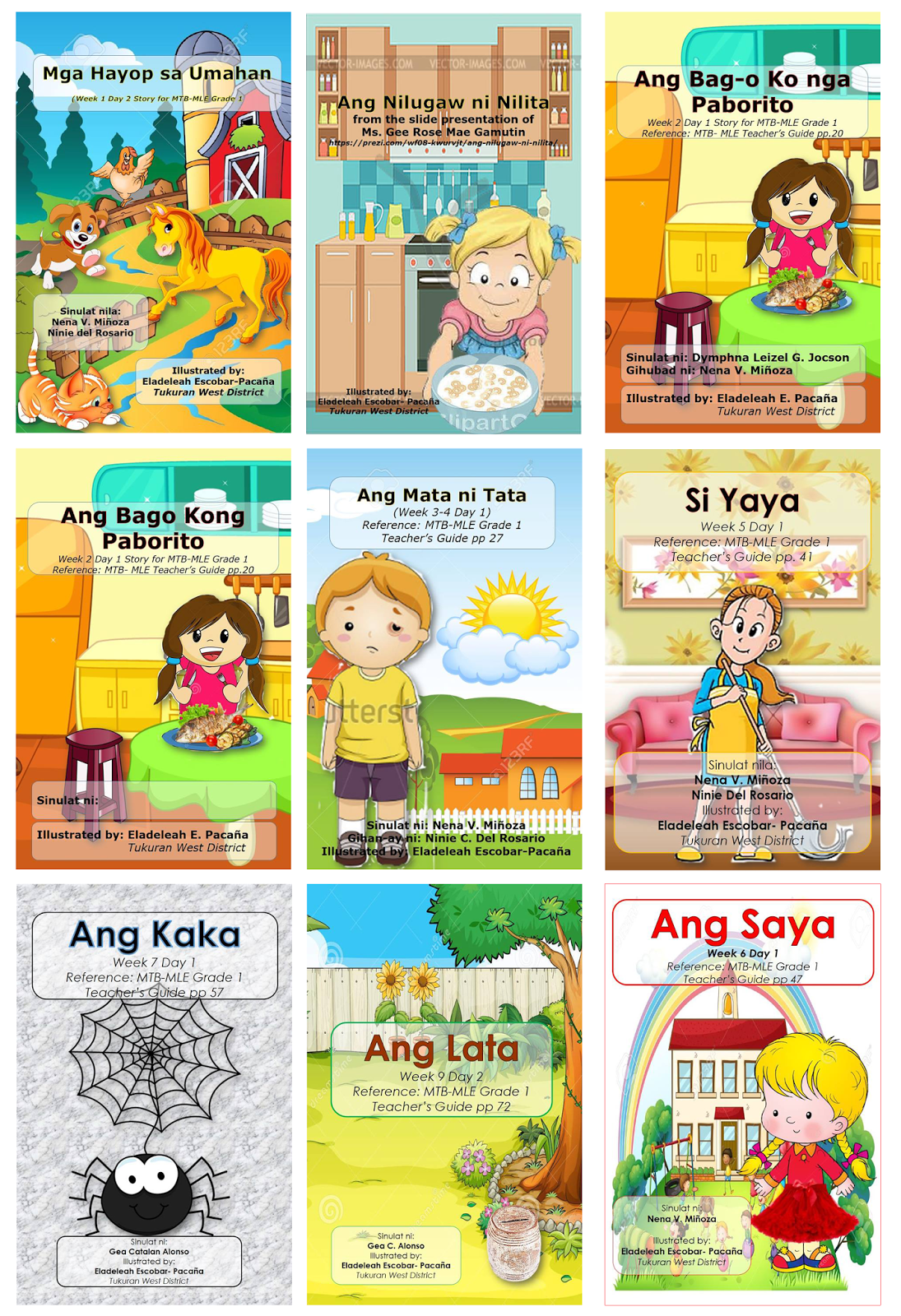Filipino Pagbasa Worksheets For Grade 3
