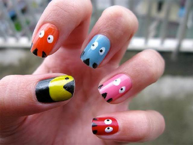 Beautiful Creative Nail Art Designs
