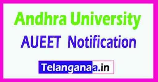 AUEET Notification Apply online