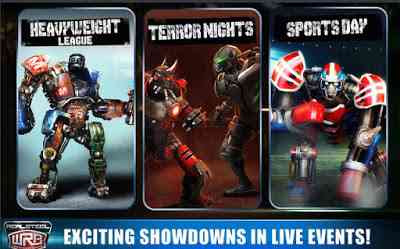 Real Steel WRB Unlimited money and Gold
