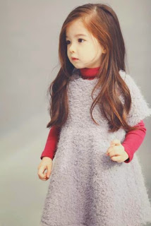 anak kecil bergaya ala korea