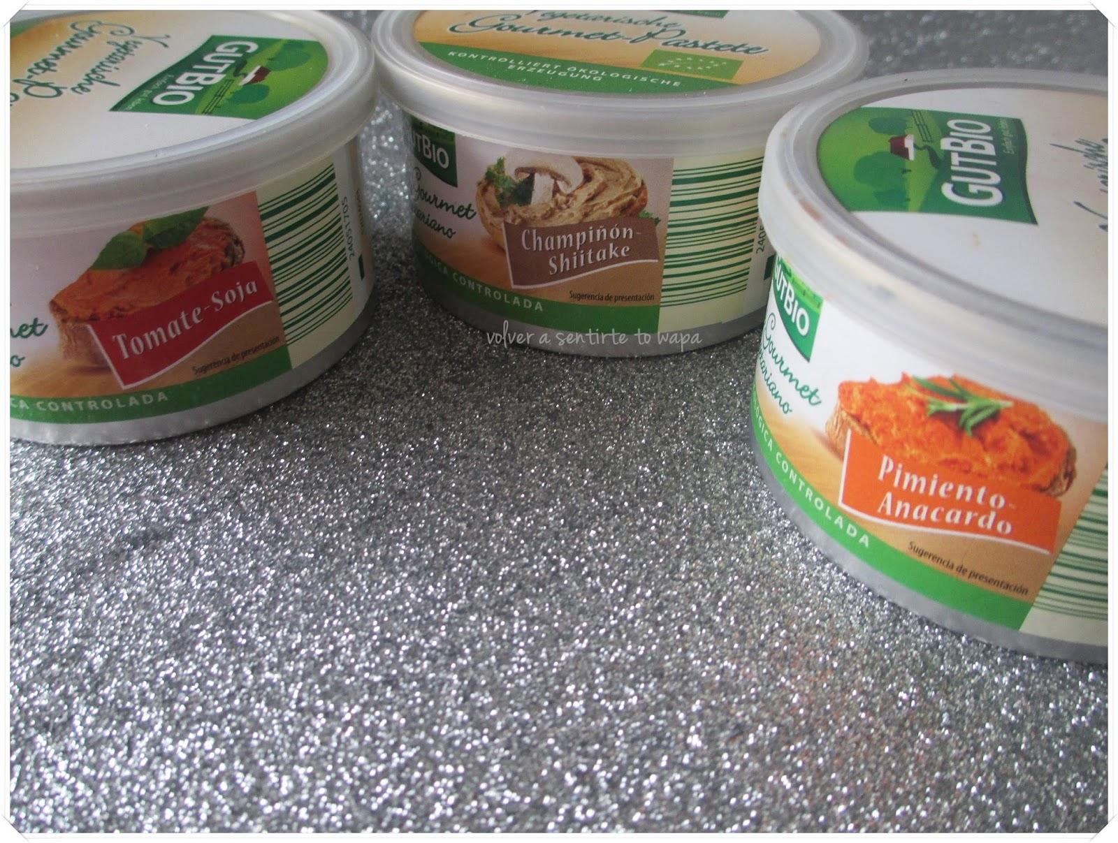 Aldi - GUTBIO - Patés Vegetales
