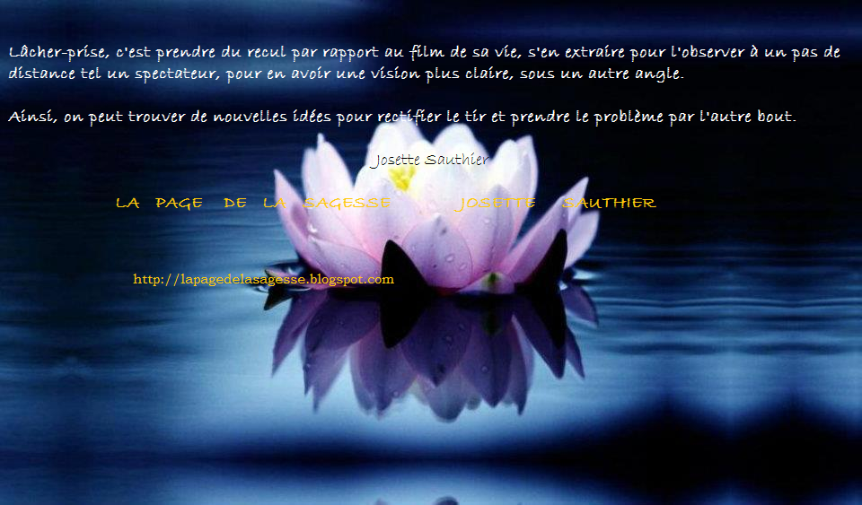 la page de la sagesse citation pour l cher prise avec lotus. Black Bedroom Furniture Sets. Home Design Ideas