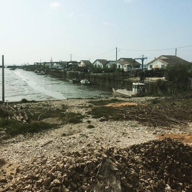 Foto del Puerto ostrícola de Arès | caravaneros.com