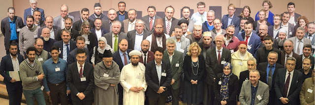 groepsfoto imams