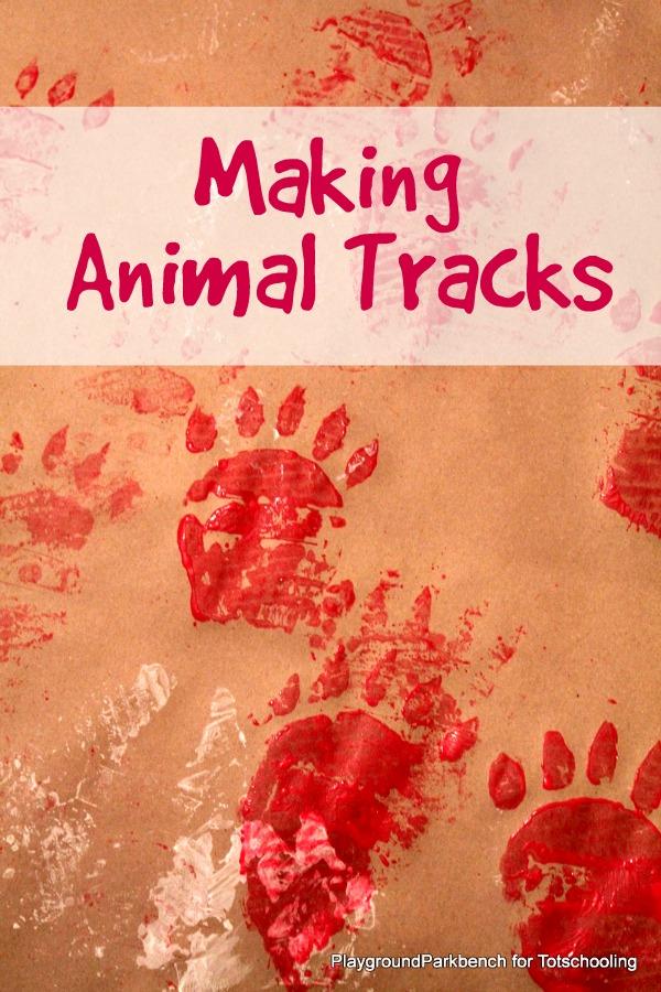 Making Animal Tracks
