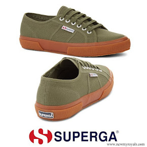 Kate Middleton wore Superga Cotu Sherwood Gum Canvas Sneaker