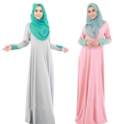 Model Baju Muslim Pesta Muslimah Terbaru 2017/2018