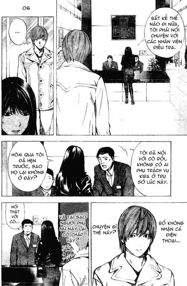 Death Note chapter 012 trang 7