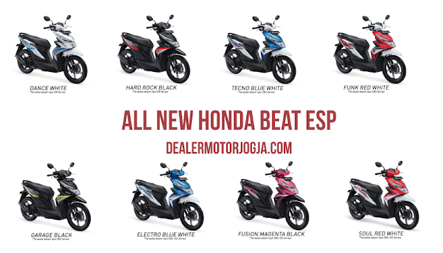 Promo Harga Terbaru Cash - Kredit Honda All New Beat Esp November 2016 Jogja