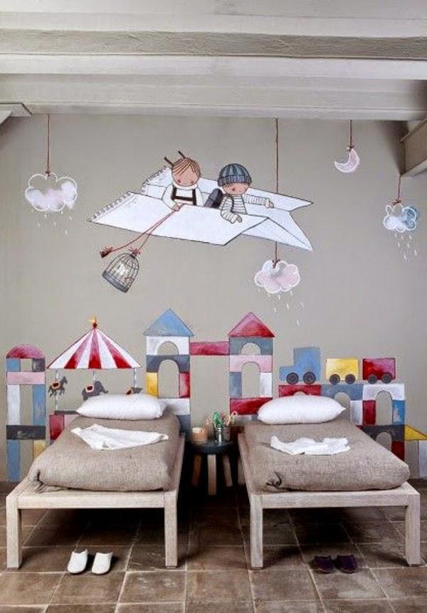 Fotos de dormitorios infantiles para dos hermanas dormitorios colores y estilos - Habitaciones infantiles de dos camas ...