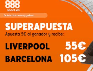 888sport superapuesta champions Liverpool vs Barcelona 7 mayo 2019