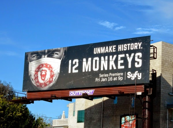 12 Monkeys TV remake billboard