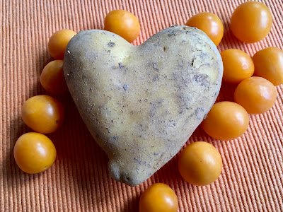 Kartoffel in Herzform, Marillen