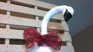 How to Make a paper mache or paper clay Swan Wall Sculpture