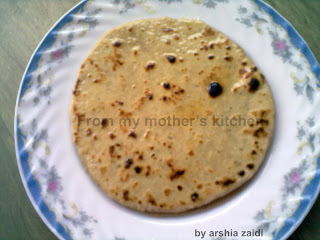 meethi roti, sweet bread, best indian dishes