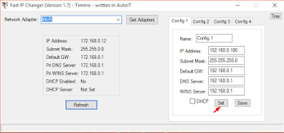 Cara Cepat Mengganti IP Address Komputer