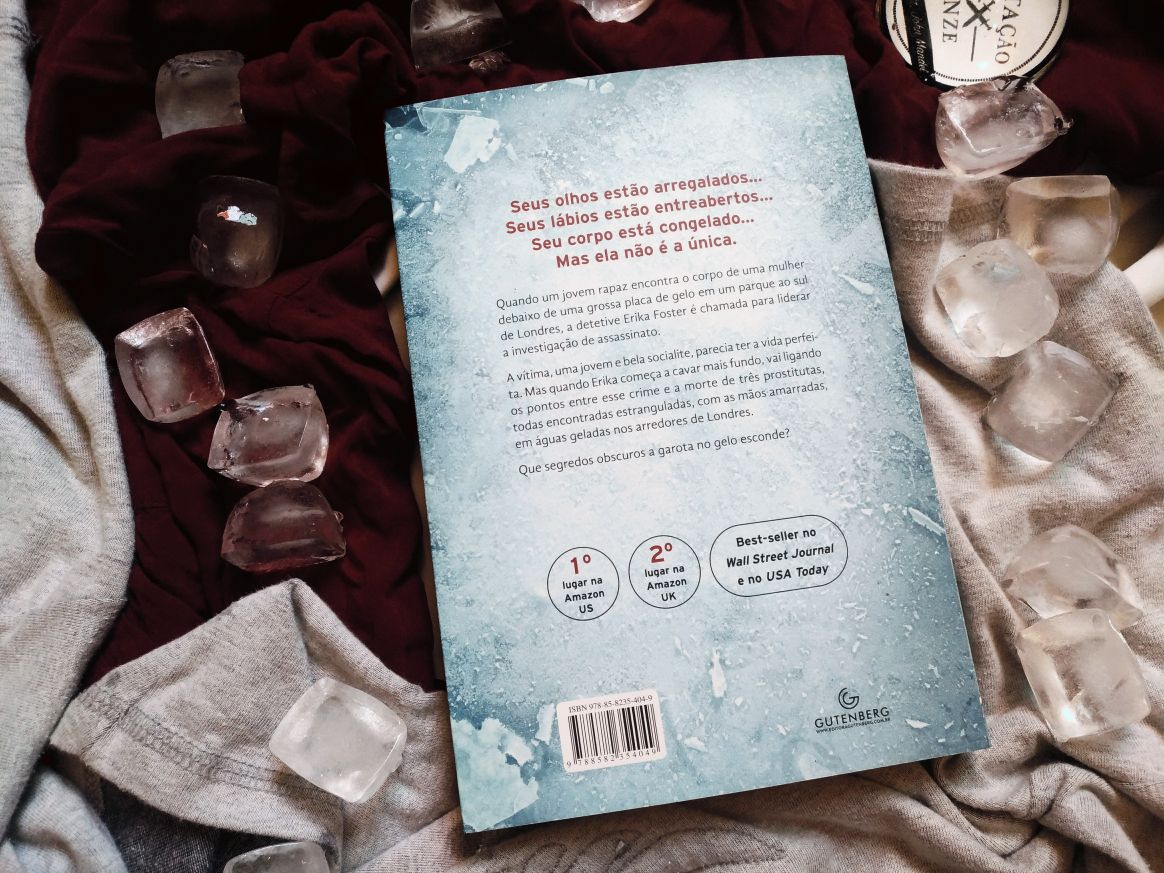 Resenha de livro: A Garota No Gelo (Detetive Erika Foster #1) - Robert Bryndza