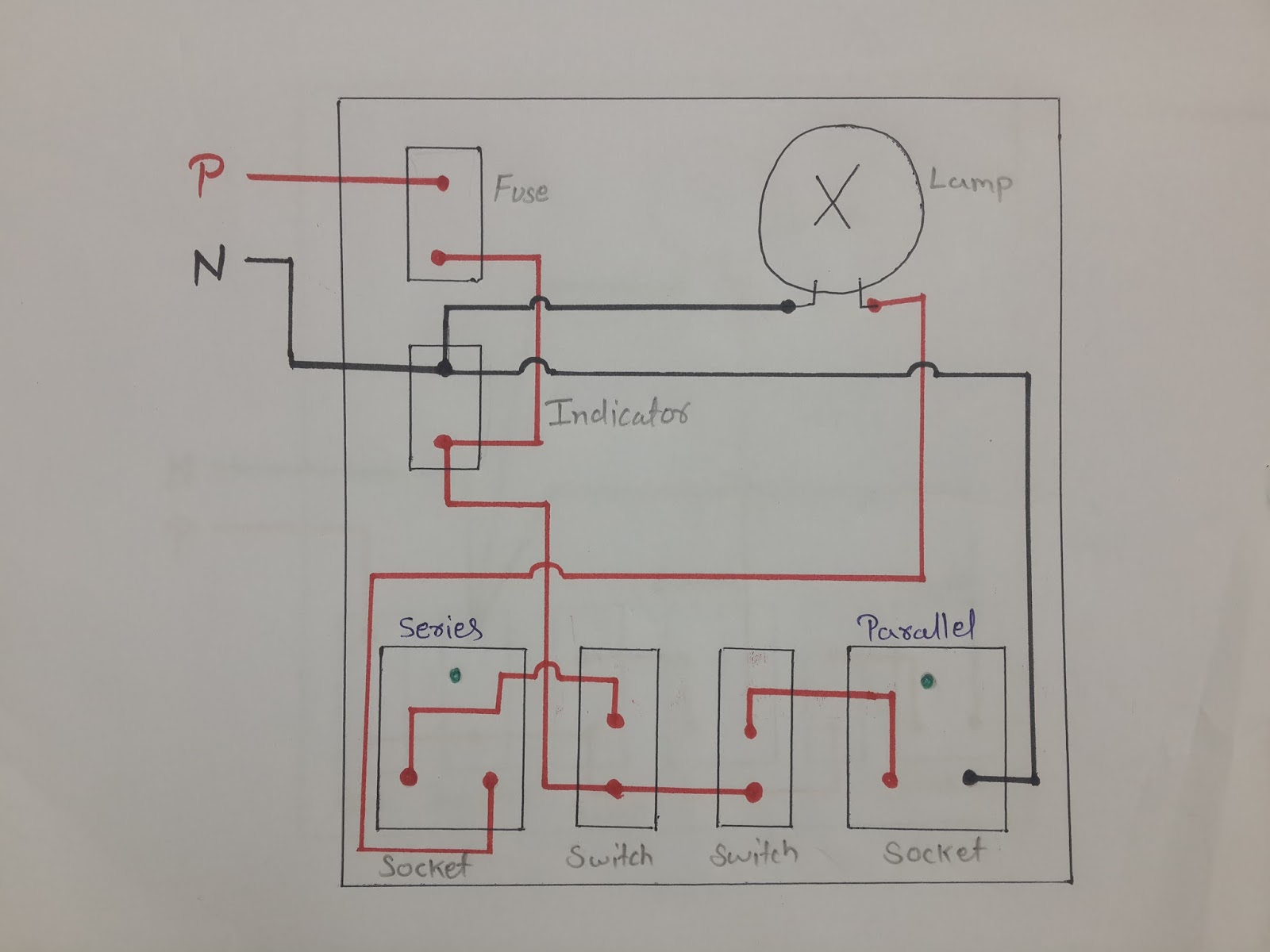 How Series Parallel Electrical Testing Board Work And Its Wiring Connections In Hindi Deepakkumar Yadav