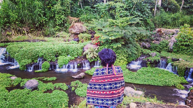 Keindahan Air Terjun Green Paradise Sumsel