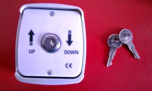Mecanismo apertura y cierre con llave
