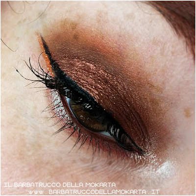 MAKEUP EYES CLOSEUP EYESHADOW goldust collection Nabla cosmetics