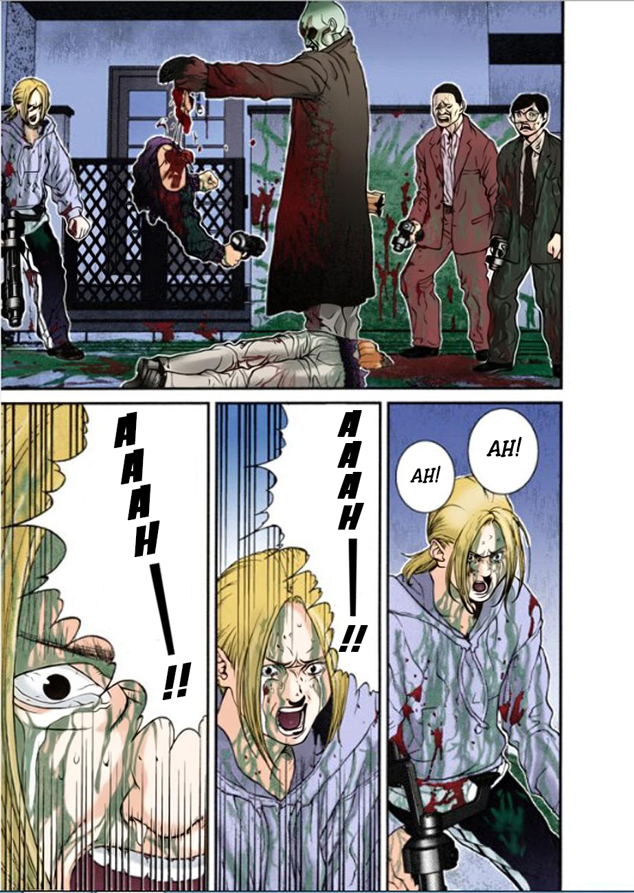 Gantz Chap 11: Tất cả đều chết trang 11