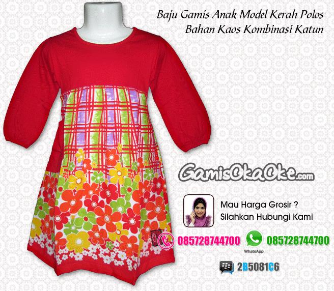 Baju Muslim Model Gamis Anak Perempuan Murah (Konveksi OKA OKE ... 4ccac0ce9e