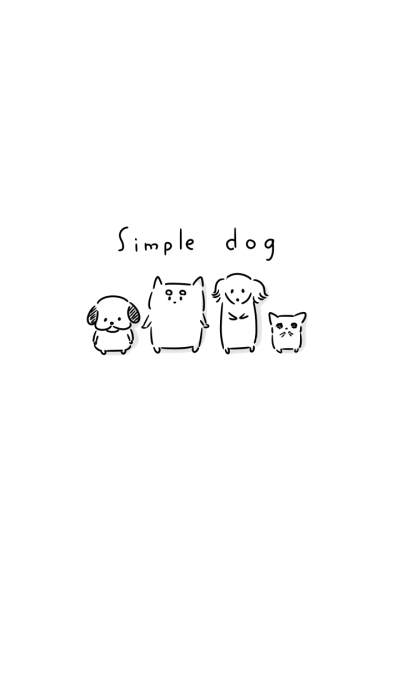 Simple dog Theme.