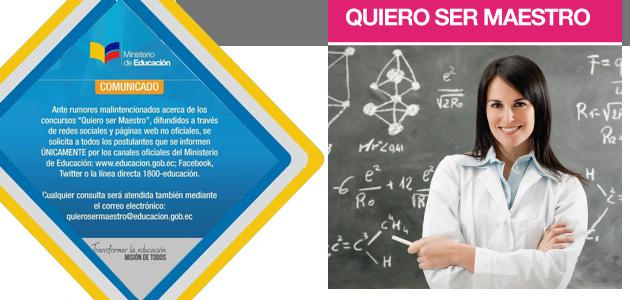Inscripciones Quiero Ser Maestro 6 2017 MINEDUC QSM Ministerio de Educación