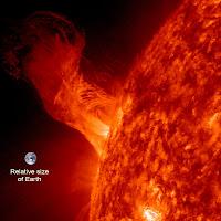 Solar Eruption: December 31, 2012