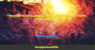 """""""Measure what is measurable, and make measurable what is not so""""  ― Galileo Galilei"""