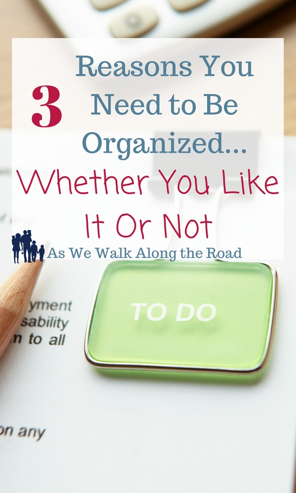 Why you need an organized homeschool
