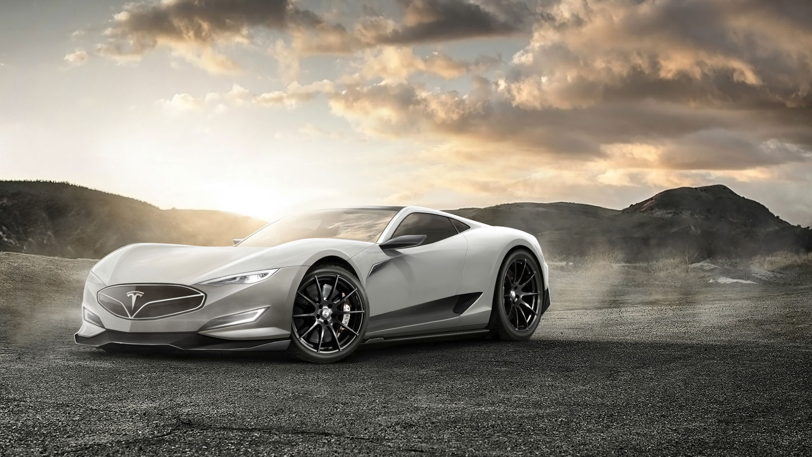 Picture Of Tesla Sports Car