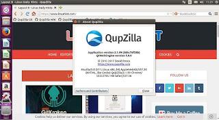 تنزيل, متصفح, انترنت, سريع, وقوى, QupZilla ,Browser ,for ,Mac, اخر, اصدار