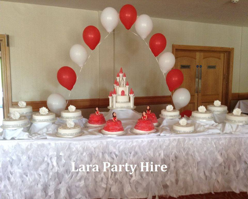Cake Table Skirting €50