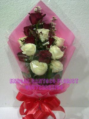 jual buket bunga untuk hari kasih sayang valentine day