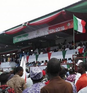 PDP Convention of Confusion: