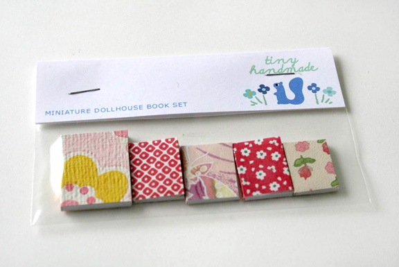 needle book: Crafternoon Tea - Tiny handmade books