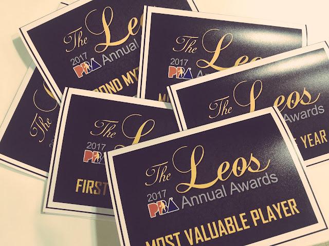 List of 2017 PBA Leo's Annual Awards